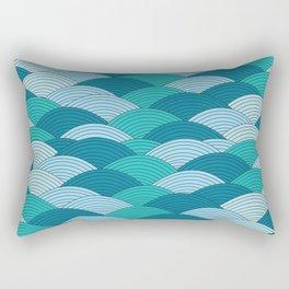 Wave 1 Rectangular Pillow