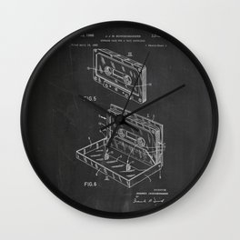 Storage Case for a Tape Cartridge Patent Wall Clock