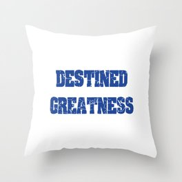 Show Off Your Ego! Support A Podcast! Buy A Shirt! For Those Who Are Destined To Be Great T-shirt Throw Pillow