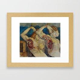 Maladie du Coeur Framed Art Print