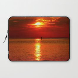 Sunset at Lake Constance Laptop Sleeve