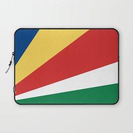 Seychelles Flag Laptop Sleeve