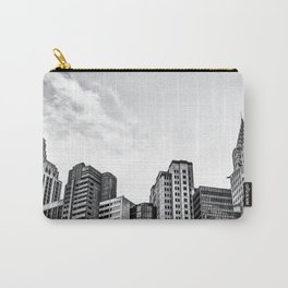 modern buildings at Las Vegas, USA in black and white Carry-All Pouch