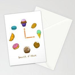 Snack o'clock Stationery Cards