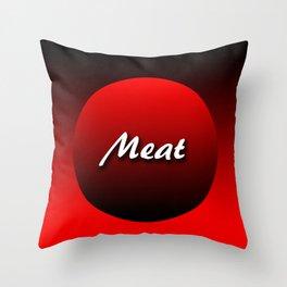 Meat Throw Pillow