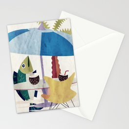 Day of the Fish Stationery Cards