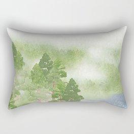 Miharu Shirahata | The day a cloud is born Rectangular Pillow