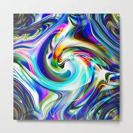 Abstract perfection - Circle 1 Metal Print