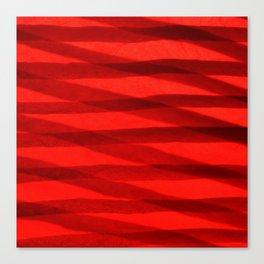 Scarlet Shadows Canvas Print