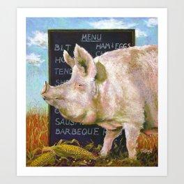 The Vegan Art Print