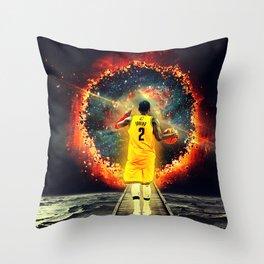 Separate Myself Throw Pillow