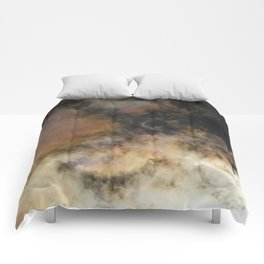 Solar Eclipse and Clouds Comforters