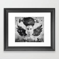 Skadi II Framed Art Print