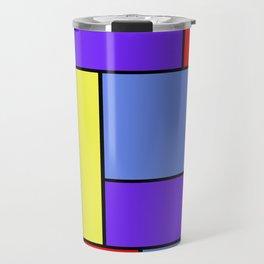 Abstract #482 Travel Mug