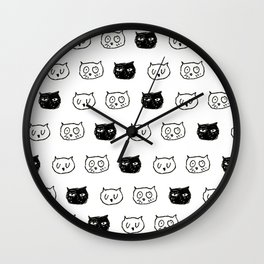 Cat Egg Wall Clock