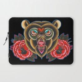 Bear of roses Laptop Sleeve