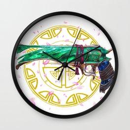 Jade Malfeasance Wall Clock