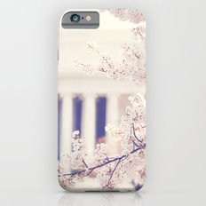 Cherry Blossoms at the Jefferson Memorial Washington DC iPhone 6s Slim Case