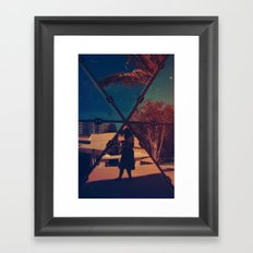 Mirrored Framed Art Print