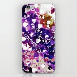 Purple Paint iPhone Skin