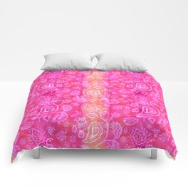 Floral pattern inspired by Hindu and Moroccan textiles Comforters