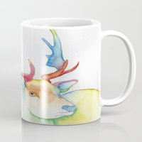 elk Mugs featuring Elk by Eric Weiand