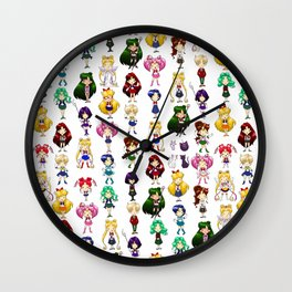 Fighting Evil by MOONLIGHT Wall Clock