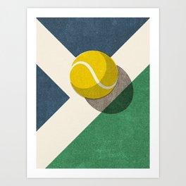 BALLS / Tennis (Hard Court) Art Print