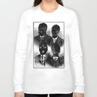 bdsm Long Sleeve T-shirts featuring BDSM  by DIVIDUS