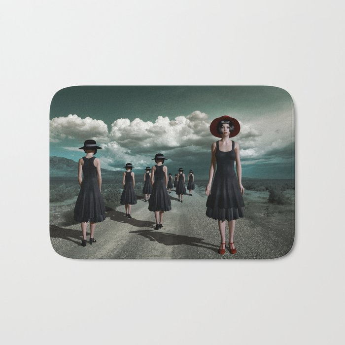 Road of girls Bath Mat