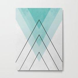Minimalist geometry XIX Metal Print
