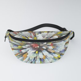 Abstract color rays Fanny Pack