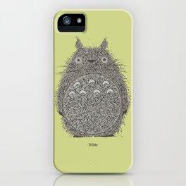 Avocado Totoro iPhone Case