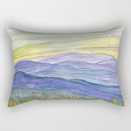 Mountains 27 Rectangular Pillow