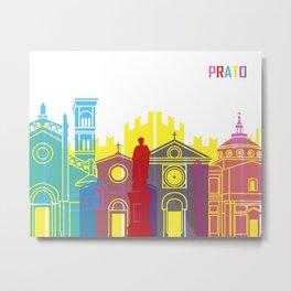 Prato skyline pop Metal Print