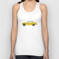 taxi driver Tank Tops featuring Taxi Driver - Taxi by V.L4B