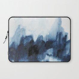 Indigo watercolor 2 Laptop Sleeve