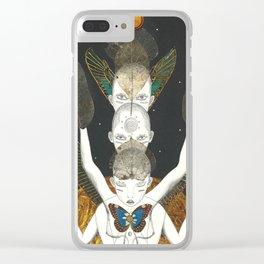 Tri-Ego Rising Clear iPhone Case