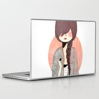 nan lawson Laptop & iPad Skins featuring Some Fashion by Nan Lawson