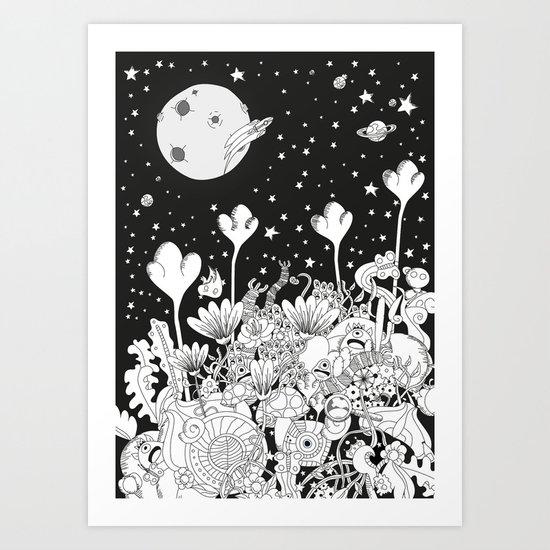 Seres Art Print