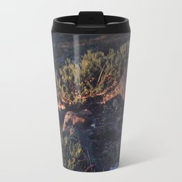 Wildflowers at Dawn Travel Mug