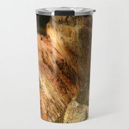 Yellow Rocks Of The Yellowstone Valley Travel Mug