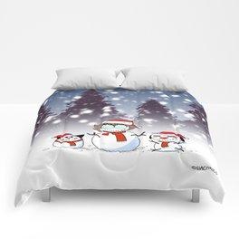 Snowman Christmas Comforters