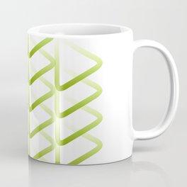 Triangle_line_shape_durian_green01 Coffee Mug
