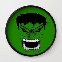 Minimalist Hulk Wall Clock