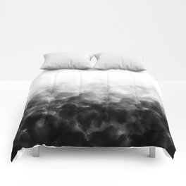 Ombre Smoke Clouds Minimal Comforters