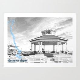 Rehoboth Beach - Delaware. Art Print