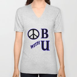 Peace be With You Unisex V-Neck
