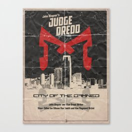 Dredd - City of the Damned Canvas Print