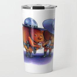 Peach Fuzz Travel Mug
